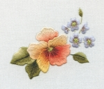 Forget Me Nots & Pansy Kit