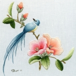 Chinese Bird & Flower project two