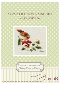 Complete lesson in miniature needlepainting