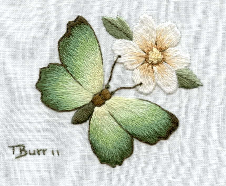 2012 february trish burr embroidery for Hand thread painting tutorial