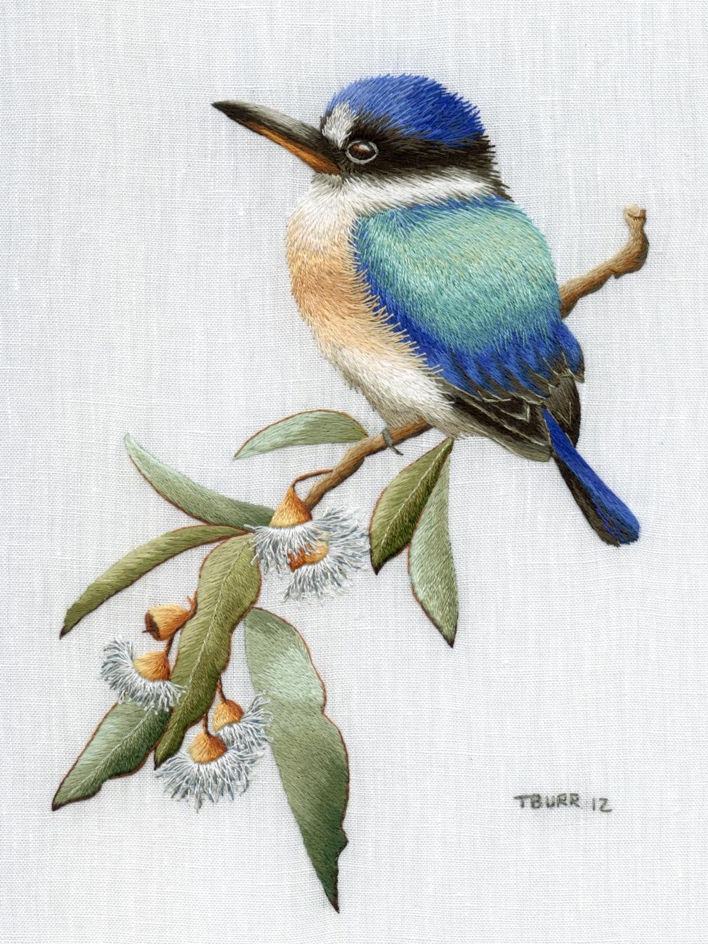 Объемная гладь, птицы и животные Рукоделие 93