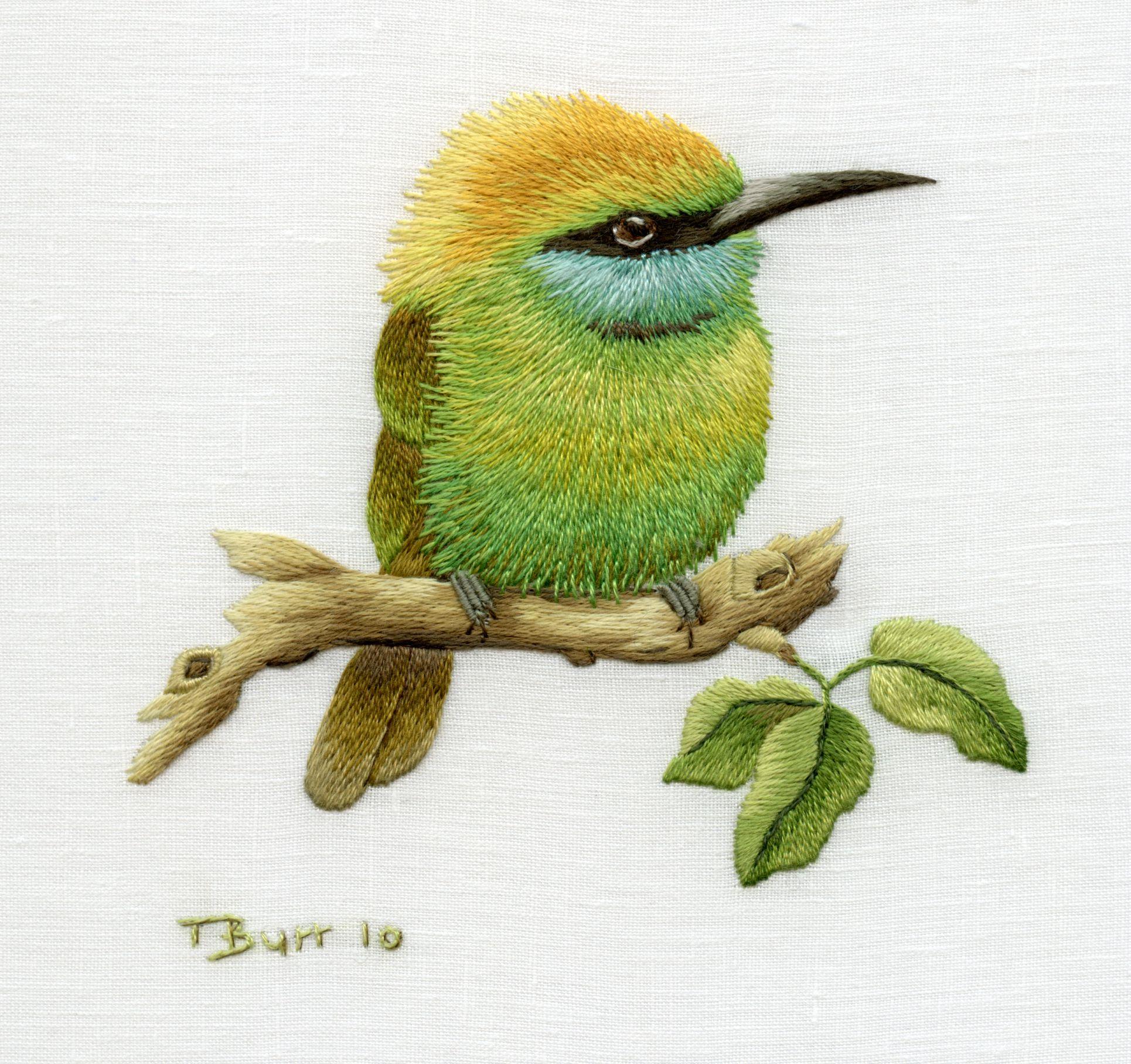 Portfolio Trish Burr Embroidery
