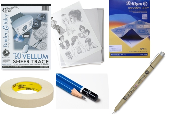 Materials for tracing