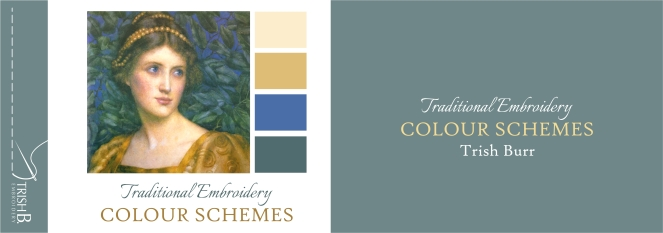 Traditional Embroidery Colour Schemes Booklet
