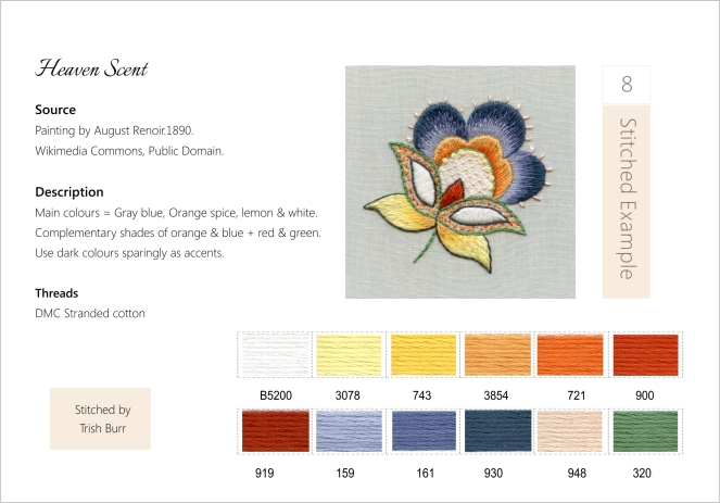 Scheme, project + palette sample