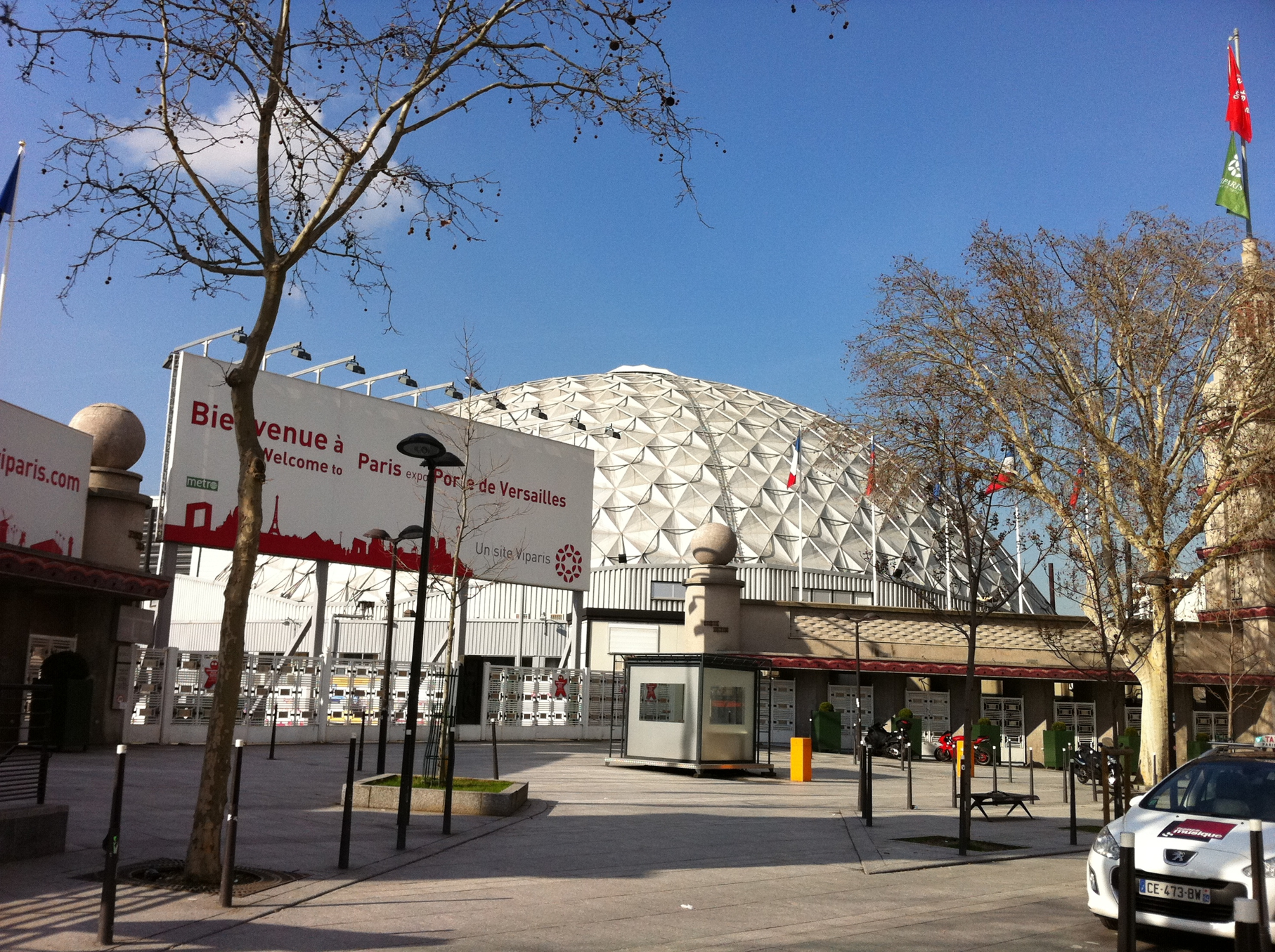 Paris for Porte de versailles salon expo