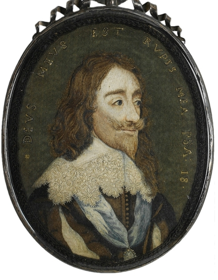 Miniature Embroidery Charles 1