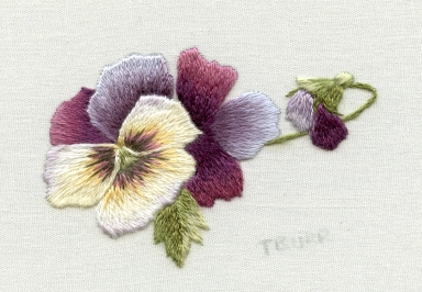 Porcelain Pansy