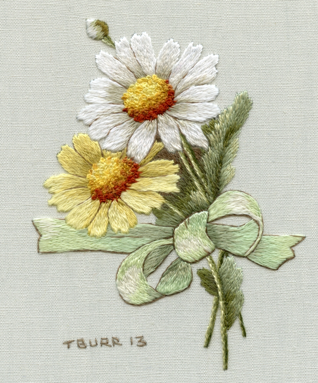New Ribbon Embroidery Designs