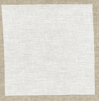 Natural Irish linen with fusible backing