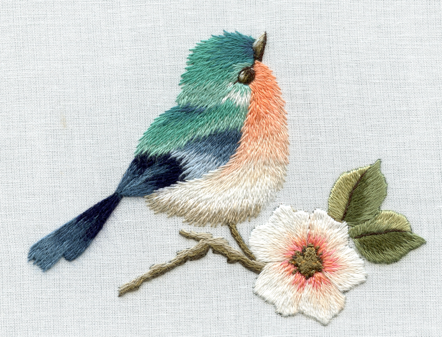 New needle painting lessons « trish burr embroidery