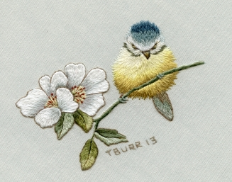 Blue Tit & WIld Roses Two Day Class