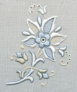Floreali Shades Of Whitework
