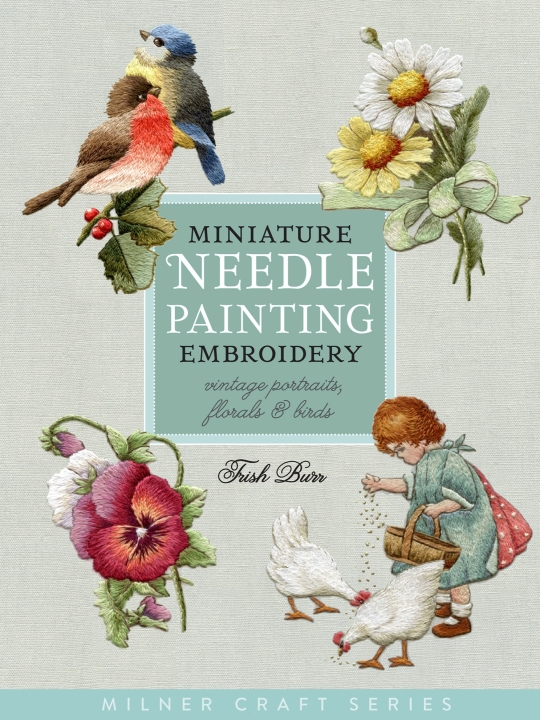 New Book on Miniature Needle Painting
