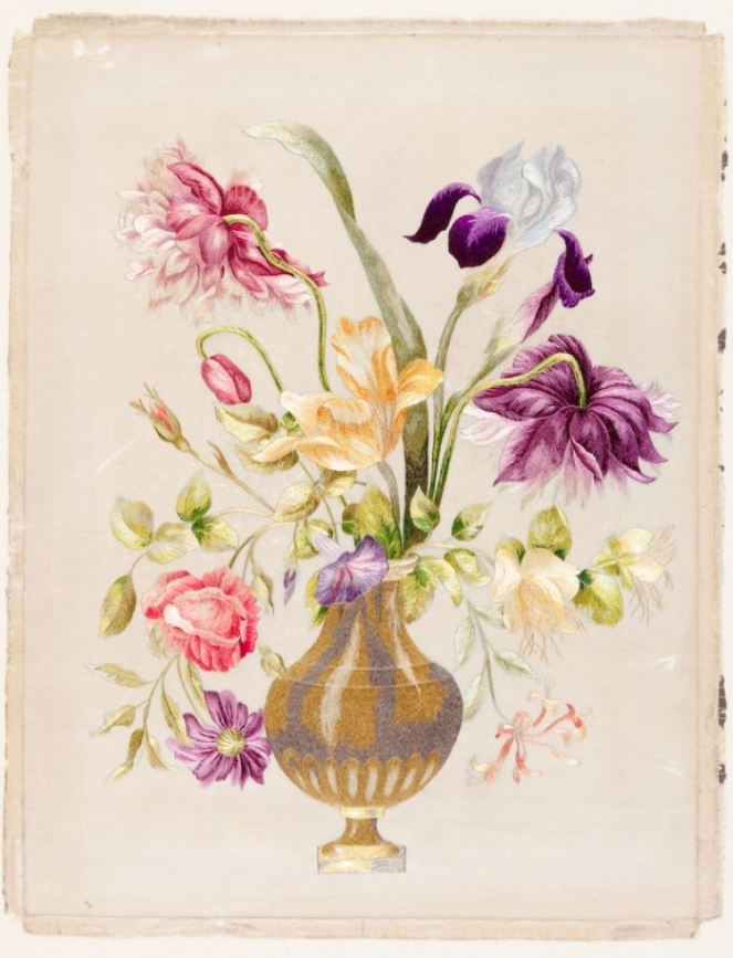 Silk Shading 18th Century RSN