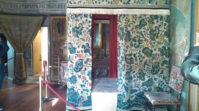 Mary Queen Of Scotts bedchamber