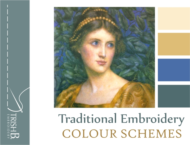 Traditional Embroidery Colour Schemes Cover