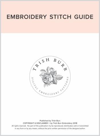 Embroidery Stitch Guide 20181